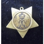 Khedive's Star dated 1882, missing the horizontal suspender bar. Scratch naming to the reverse ' ...