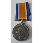 British War Medal named to DML-135582 Private J.B. Henry, Army Service Corps. Also entitled to a ...