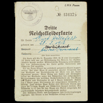 Germany – Third Reich. A Vyza.   Wellington Auctions