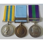 A Korean War and Cyprus Campaign Group of 3 to Sergeant J. Parren, Royal Leicestershire Regiment,...