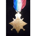 1914-15 Star named to (M2-117142 PTE A.G. HALSEY. A.S.C.)