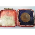 HMS Conway Cutter Races Medal. Easter 1923 Starboard Fore Stroke F.H. Stephens, in damaged box of...