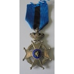 Belgium. Order of Leopold II, Knight Grade, pre-1951 issue, of Great War / 1920's period manufact...