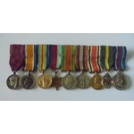 An interesting George Medal Group of 9 miniatures attributed to Lieutenant Colonel S.W. Warwick, ...