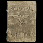 Germany – Third Reich: The Bryansk Iron Cross 2nd Class and Silver Wound Badge Document Grouping ...
