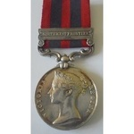 India General Service Medal 1854, clasp North West Frontier, named to 1723 W. Griffiths, H.M.'s 1...