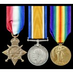 Great War Gallipoli Casualty group awarded to Private A. Brydone, 1st/4th Battalion, King's Own S...
