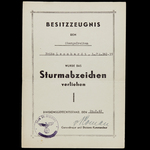 Germany – Third Reich. A Scar.   Wellington Auctions
