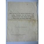 An interesting group of medals and documents awarded to Sergeant P.G. Poingdestre, Seaforth Highl...