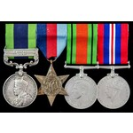 India North West Frontier 1930 to 1931 Red Shirt Rebellion and Second World War group awarded to ...