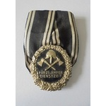 Germany. Imperial. Prussia: Fire Brigade Long Service Decoration for 25 Years