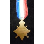1914-15 Star named (M2-053211 PTE A.H. TRUMAN. A.S.C.)