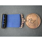 Royal Humane Society, small bronze medal (successful) John S. Humphrey, 17 July 1874. with integr...
