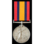 Queens South Africa Medal, no. | Wellington Auctions