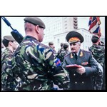 The very rare Iraq Op Telic 5 and Russian Federation Victory Day Parade Medal 2010 pair awarded t...