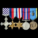 The superb and extremely well documented Second World War Bomber Command Halifax Bomber 578 Squad...