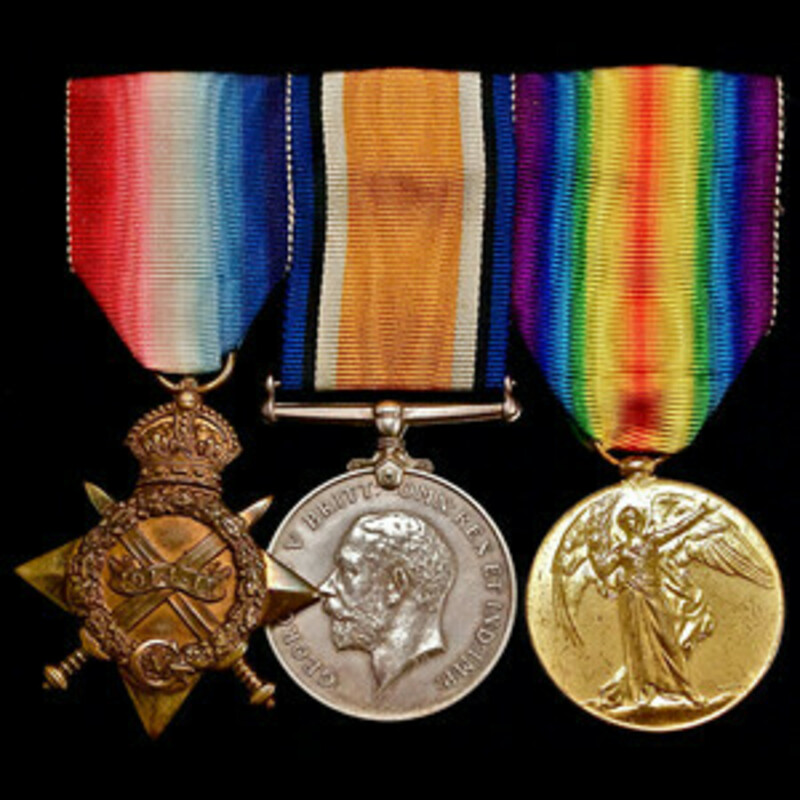 A Great War officer casualty . | Wellington Auctions