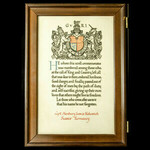 The interesting framed Great .   Wellington Auctions