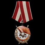 Russia – Soviet: A Long Service Award of the Order of the Red Banner to Major Efin Filippovich Ta...