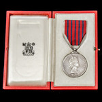 The rare, emotive, and numismatically important first ever posthumous George Medal awarded to Ser...