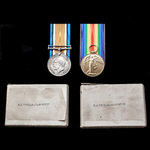 A Great War Western Front Officer casualty pair awarded to 2nd Lieutenant H.E. Gordon, 5th City o...