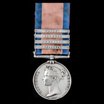 A regimentally important Military General Service Medal 1793-1814, four clasps Vittoria, Pyrenees...