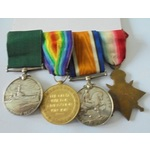 A Long Service Group of 4 to . | Wellington Auctions