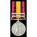 Queen's South Africa Medal 1899-1902, 2 Clasps: Cape Colony, South Africa 1902, awarded to Privat...