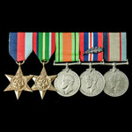 A fine and scarce Second World War Pacific New Britain Operations Mentioned in Despatches group a...
