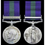 General Service Medal 1918-62, Geo V, first issue, one clasp N.W. Persia (2525 Sowar Nek Mohd. C ...