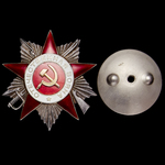 Russia – Soviet: An intriguing Order of the Patriotic War 2nd Class to Colonel Motel Lazarevich K...