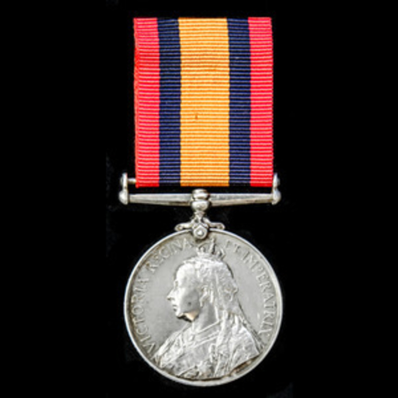Queens South Africa Medal, no.   Wellington Auctions