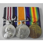 A Military Medal and Pair to Lance Sergeant C.T. Allin, 3rd Battalion, Canadian Infantry, wounded...