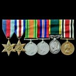 Second World War North West Europe and Territorial and Police Special Constabulary double long se...