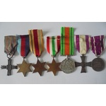 A Monte Cassino Cross Group of 7 medals to Sergeant D. Perling of the Polish Army, who having enl...