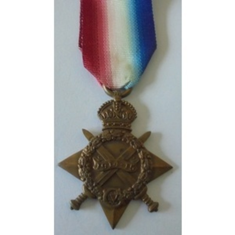 1914-15 Star named to 1571 Se.   Wellington Auctions