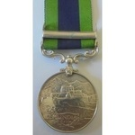 India General Service Medal 1908, Geo V, clasp North West Frontier 1930-31 to 6394046 PTE W.L. BA...