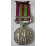 India General Service Medal 1895, one clasp, Punjab Frontier 1897-98, named to 4403 Private R. Fr...