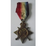 1914-15 Star named to 2916 Private J. Kenny, Manchester Regiment. Entered France 18th July 1915 a...
