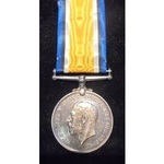 British War Medal named to M2-082156 Private H.J. Ogden, Army Service Corps. Toned, Good very fin...