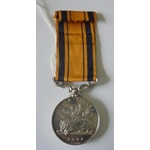 South Africa Medal 1853, no clasp, named to W. Wright, 91st Regiment. Served from 1846 until 1853...