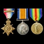 A Great War 22nd October 1914 Commissioned in the Field for Distinguished Service and August 1915...