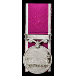 Regular Army Long Service and Good Conduct Medal, EIIR Dei.Grat. bust; (4276834 CPL. A.G.R. BRADF...