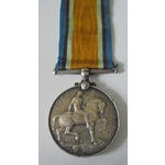 British War Medal named to 167700 W. Goodfellow, Stoker 1st Class, Royal Navy. Heavy contacting, ...