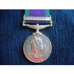 Campaign Service Medal 1962, clasp Borneo named to 21141308 Driver K. Thapa, Ghurka Army Service ...