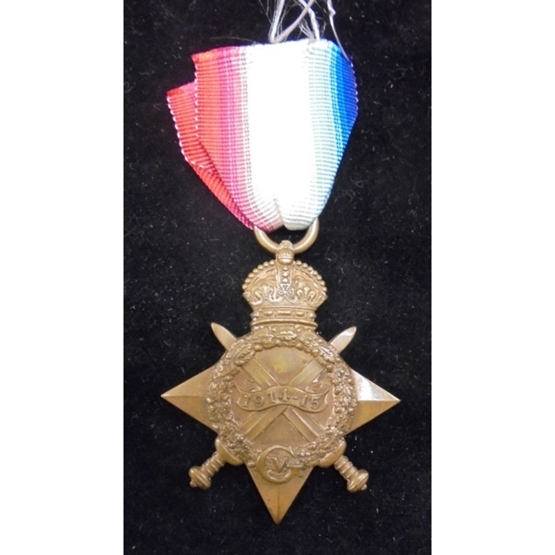 1914-15 Star named (13201 PTE.   Wellington Auctions