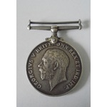 British War Medal named to J.15675 W.J. Whitlock, Able Seaman, Royal Navy. Scuffing to rim especi...