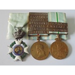 Greece. A fine group of three medals for the First Balkan War 1912-13 comprising; Order of the Re...