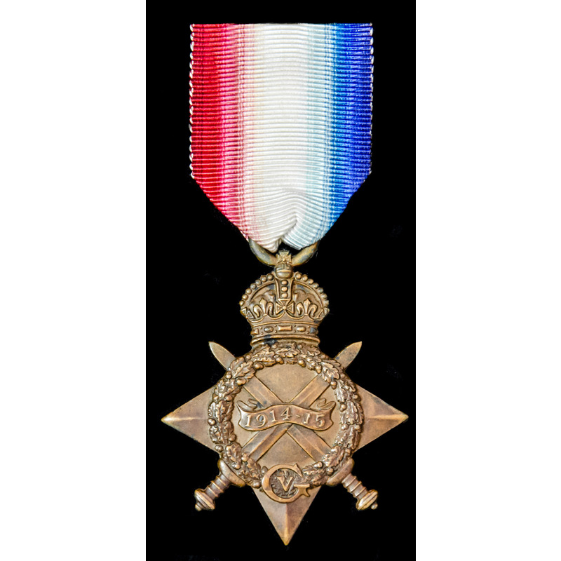1914-15 Star; (6-4748 PTE F.E. | Wellington Auctions