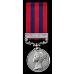 India General Service Medal 1854, one clasp, Burma 1885-7; (C. CULLEY, A.B. H.M.S. MARINER.) Char...